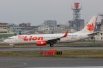 sg-driverさんが、福岡空港で撮影したタイ・ライオン・エア 737-8GPの航空フォト(写真)