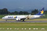 kuro2059さんが、鹿児島空港で撮影したスカイマーク 737-86Nの航空フォト(写真)