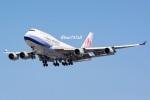 kan787allさんが、福岡空港で撮影したチャイナエアライン 747-409の航空フォト(写真)