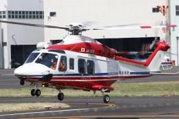 4engineさんが、東京ヘリポートで撮影した横浜市消防航空隊 AW139の航空フォト(飛行機 写真・画像)