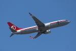 mogusaenさんが、成田国際空港で撮影したマレーシア航空 737-8H6の航空フォト(飛行機 写真・画像)