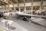 Koenig117さんが、RAF Museum Londonで撮影したイギリス空軍 DH.100 Vampire F3の航空フォト(写真)