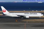 いおりさんが、羽田空港で撮影した日本航空 767-346の航空フォト(写真)
