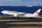 いおりさんが、羽田空港で撮影した日本航空 777-246/ERの航空フォト(写真)