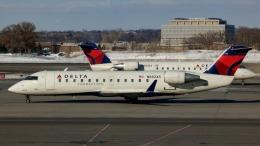 Bluewingさんが、ミネアポリス・セントポール国際空港で撮影したデルタ・コネクション CL-600-2B19 Regional Jet CRJ-200ERの航空フォト(飛行機 写真・画像)