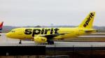Bluewingさんが、ハーツフィールド・ジャクソン・アトランタ国際空港で撮影したスピリット航空 A319-132の航空フォト(写真)