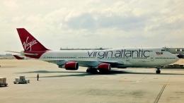 Bluewingさんが、ハーツフィールド・ジャクソン・アトランタ国際空港で撮影したヴァージン・アトランティック航空 747-41Rの航空フォト(飛行機 写真・画像)