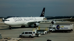 Bluewingさんが、ハーツフィールド・ジャクソン・アトランタ国際空港で撮影したルフトハンザドイツ航空 A340-313Xの航空フォト(飛行機 写真・画像)