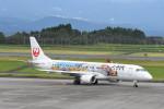 kuro2059さんが、鹿児島空港で撮影したジェイ・エア ERJ-190-100(ERJ-190STD)の航空フォト(写真)