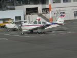 ヒロリンさんが、松山空港で撮影した日本法人所有 F33A Bonanzaの航空フォト(写真)
