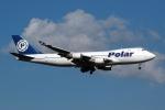 採れたてほしいもさんが、成田国際空港で撮影したポーラーエアカーゴ 747-46NF/SCDの航空フォト(写真)