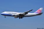 れんしさんが、福岡空港で撮影したチャイナエアライン 747-409の航空フォト(写真)