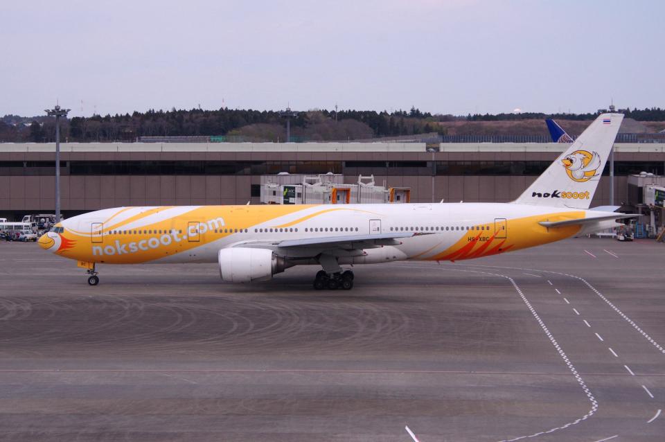 yabyanさんのノックスクート Boeing 777-200 (HS-XBC) 航空フォト
