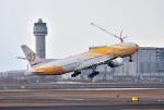 mojioさんが、新千歳空港で撮影したノックスクート 777-212/ERの航空フォト(飛行機 写真・画像)