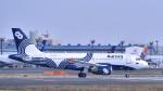 パンダさんが、成田国際空港で撮影したオーロラ A319-111の航空フォト(写真)