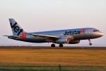 ばっきーさんが、宮崎空港で撮影したジェットスター・ジャパン A320-232の航空フォト(写真)