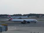 kazupen2018さんが、成田国際空港で撮影したブリティッシュ・エアウェイズ 787-9の航空フォト(写真)