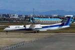 ばっきーさんが、宮崎空港で撮影したANAウイングス DHC-8-402Q Dash 8の航空フォト(写真)