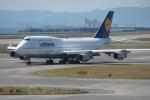 おきぃんさんが、関西国際空港で撮影したルフトハンザドイツ航空 747-430の航空フォト(写真)