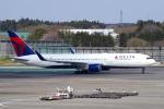 yabyanさんが、成田国際空港で撮影したデルタ航空 767-3P6/ERの航空フォト(写真)