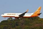 あしゅーさんが、福岡空港で撮影したチェジュ航空 737-8Q8の航空フォト(飛行機 写真・画像)