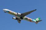 Wasawasa-isaoさんが、福岡空港で撮影したエバー航空 A330-302Xの航空フォト(写真)