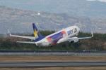 pringlesさんが、長崎空港で撮影したスカイマーク 737-81Dの航空フォト(写真)