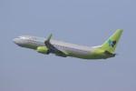 Billyさんが、福岡空港で撮影したジンエアー 737-8SHの航空フォト(写真)