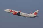 Billyさんが、福岡空港で撮影したタイ・ライオン・エア 737-8GPの航空フォト(飛行機 写真・画像)