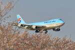 new_2106さんが、成田国際空港で撮影した大韓航空 747-4B5F/ER/SCDの航空フォト(写真)