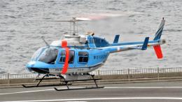 Ocean-Lightさんが、横浜ヘリポートで撮影した神奈川県警察 206L-4 LongRanger IVの航空フォト(飛行機 写真・画像)