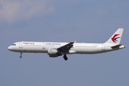 yabyanさんが、成田国際空港で撮影した中国東方航空 A321-211の航空フォト(写真)