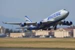 デルタおA330さんが、横田基地で撮影したナショナル・エア・カーゴ 747-428(BCF)の航空フォト(写真)