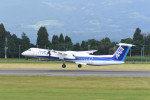 kuro2059さんが、鹿児島空港で撮影したANAウイングス DHC-8-402Q Dash 8の航空フォト(写真)