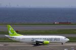 xxxxxzさんが、羽田空港で撮影したソラシド エア 737-43Qの航空フォト(飛行機 写真・画像)