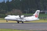 kuro2059さんが、鹿児島空港で撮影した日本エアコミューター ATR-42-600の航空フォト(飛行機 写真・画像)