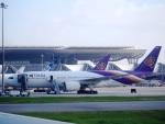 ken1☆MYJさんが、スワンナプーム国際空港で撮影したタイ国際航空 777-2D7の航空フォト(写真)