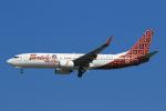 ★azusa★さんが、シンガポール・チャンギ国際空港で撮影したマリンド・エア 737-8GPの航空フォト(写真)