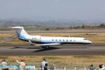 VEZEL 1500Xさんが、静岡空港で撮影したメトロジェット G-V-SP Gulfstream G550の航空フォト(写真)