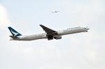 Co-pilootjeさんが、成田国際空港で撮影したキャセイパシフィック航空 777-367の航空フォト(写真)