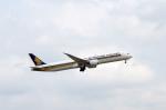 Co-pilootjeさんが、成田国際空港で撮影したシンガポール航空 787-10の航空フォト(写真)