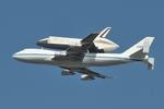 ニューヨーク港 Pier 84で撮影されたアメリカ航空宇宙局 - National Aeronautics and Space Administrationの航空機写真
