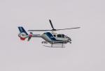 HND_fanさんが、横須賀 津久井浜で撮影したオールニッポンヘリコプター EC135T2の航空フォト(写真)