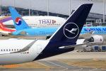 T.Sazenさんが、関西国際空港で撮影したルフトハンザドイツ航空 A350-941XWBの航空フォト(写真)
