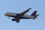 Liangさんが、デトロイト・メトロポリタン・ウェイン・カウンティ空港で撮影したデルタ航空 A319-114の航空フォト(飛行機 写真・画像)