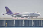 ちゃぽんさんが、羽田空港で撮影したタイ国際航空 747-4D7の航空フォト(写真)