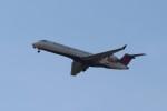 Liangさんが、デトロイト・メトロポリタン・ウェイン・カウンティ空港で撮影したデルタ・コネクション CL-600-2C10 Regional Jet CRJ-701ERの航空フォト(飛行機 写真・画像)
