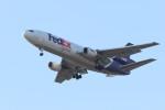 Liangさんが、デトロイト・メトロポリタン・ウェイン・カウンティ空港で撮影したフェデックス・エクスプレス MD-10-10Fの航空フォト(飛行機 写真・画像)
