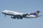 ちゃぽんさんが、羽田空港で撮影したルフトハンザドイツ航空 747-830の航空フォト(写真)