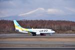 mojioさんが、新千歳空港で撮影したAIR DO 737-781の航空フォト(飛行機 写真・画像)